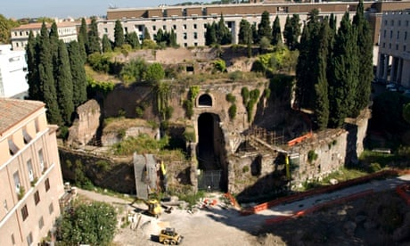Augustus rules again as Rome acts to restore lost mausoleum