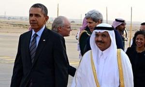 US President Obama visits Saudi Arabia
