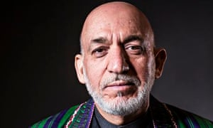 Hamid Karzai, who is nearing the end of his tenure as president of Afghanistan.