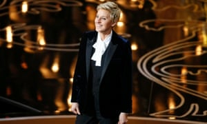 Ellen DeGeneres, host of the 86th Academy Awards