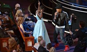 Guardian Oscars: Lupita Nyong'o, Pharrell Williams