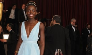 Lupita Nyong'o, winner of the best supporting actress