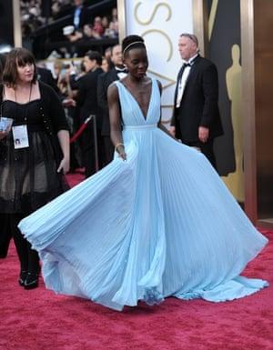Oscars 2014 red carpet: Lupita Nyong'o