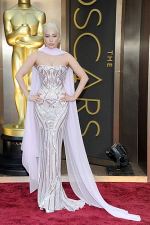 Oscars 2014 red carpet: Lady Gaga