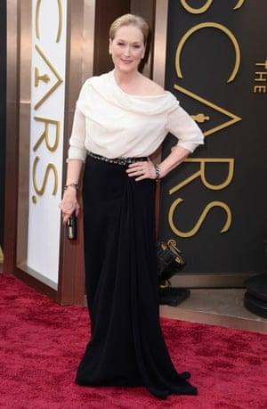 Oscars 2014 red carpet: Meryl Streep