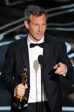 Spike Jonze picks up the Oscar for the best original screenplay