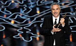 Guardian Oscars Gravity Alfonso Cuaron