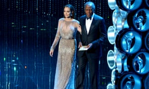 Angelina Jolie and Sidney Poitier take to the stage at the Dolby theatre