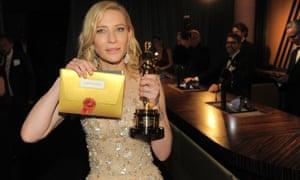 Cate Blanchett, inevitable winner of the best actress award.