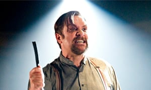 A cut-throat business … Michael Ball as Sweeney Todd in Jonathan Kent's 2011 production.