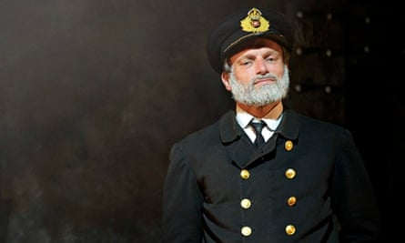 Philip Rham as Captain Smith in Southwark Playhouse's award-winning Titanic