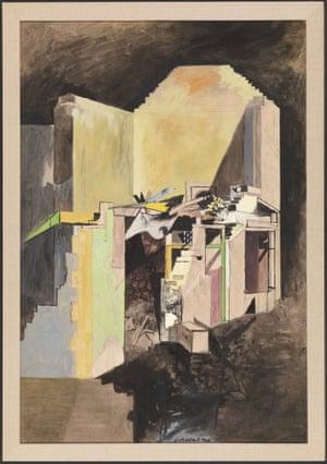Graham Sutherland Devastation, 1940: A House on the Welsh Border 1940.