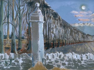 Paul Nash Pillar and Moon 1932-42.