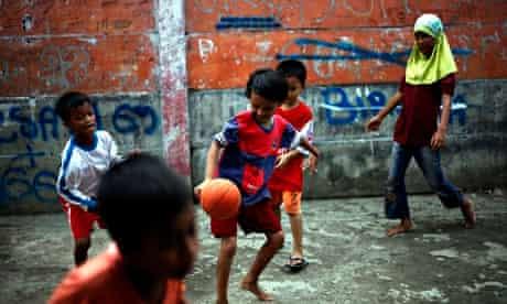 Cities: kids 1, football