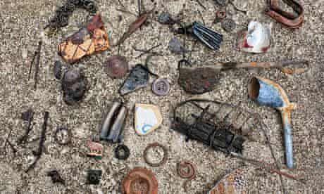 Go beachcombing for lost treasure
