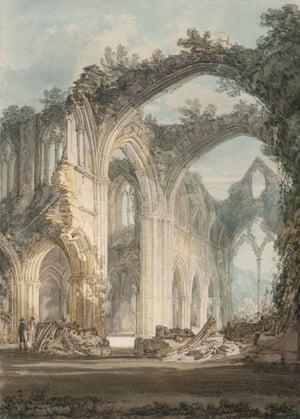 Joseph Mallord William Turner's Tintern Abbey