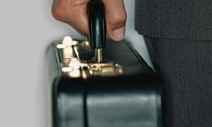 Briefcase, kickback payments