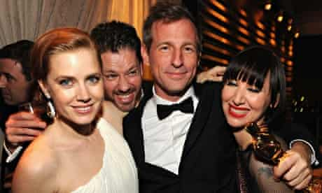 Amy Adams and Spike Jonze at the Vanity Fair party.