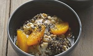 Yotam Ottolenghi's pot barley, orange and sesame pudding