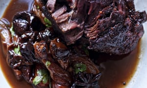 Nigel Slater's ox cheeks with prunes and star anise recipe
