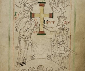 Liber Vitae manuscript from New Minster, Winchester