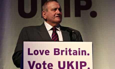 UKIP MEP candidate Keith Crawford