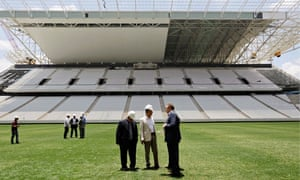 The Arena de São Paulo will not be delivered until mid-May