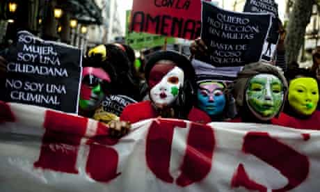 Sex workers protest in Barcelona