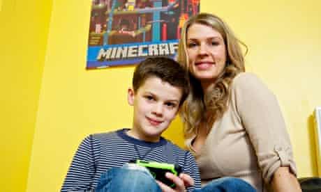 Jane Costello and son Otis