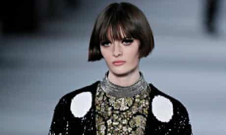 Saint Laurent Paris - Runway - Paris Fashion Week Ready to Wear F/W 2014/15