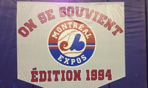 在多伦多蓝鸟队面对纽约大都会队之前,1994年蒙特利尔博览会队伍在奥林匹克体育场获得了荣誉。