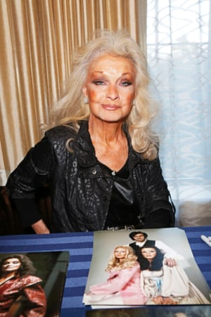 2013: Kate O'Mara at Chiller theatre convention in New York.
