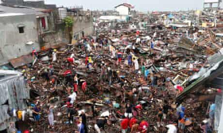 Tacloban typhoon aftermath