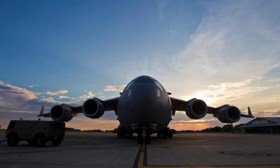The RAAF base in Darwin.
