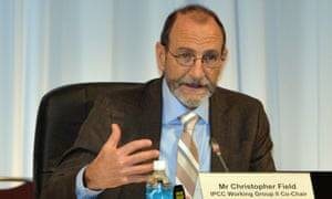 Intergovernmental Panel on Climate Change (IPCC) Working Group II co-chairman Chris Field