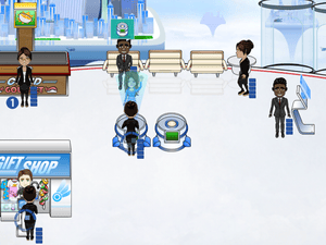 Accenture Sky Journey is a free promotional game for the consultancy.