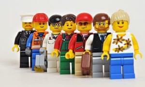Lego work people