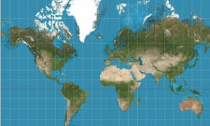 Why Google Maps Gets Africa Wrong World News The Guardian - Least favorite maps last of us