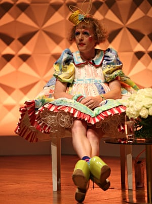 Grayson Perry at the Vogue festival 2014