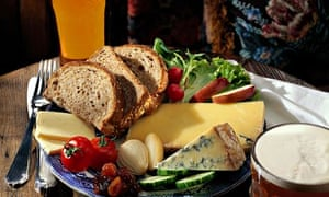 A ploughman's lunch … or is it?