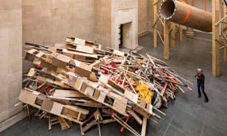 Dock by Phyllida Barlow at Tate Britain