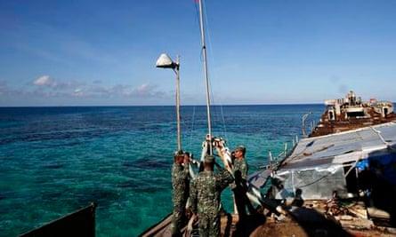 Philippine marines