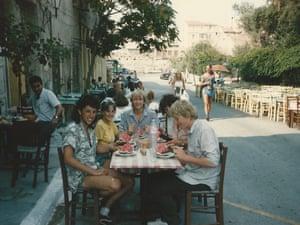 Inter-railing post A-levels, summer 1986.