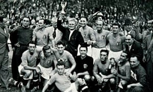 Italy's 1938 World Cup team