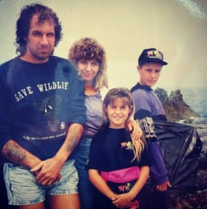 Our annual family holiday to northern Cornwall, 1988
