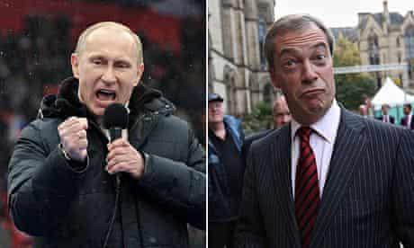 Putin and Farage