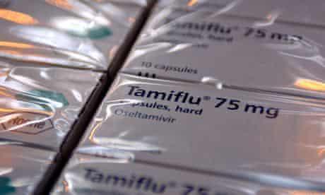 Tamiflu packets