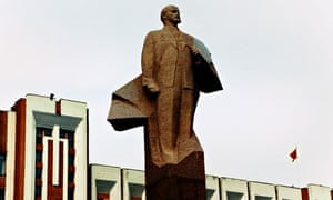 Statue of Lenin Moldova