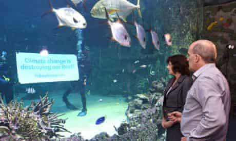 IPPC report authors aquarium Sydney