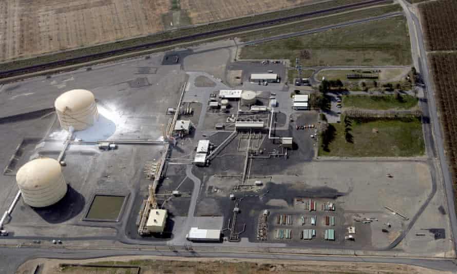 washington gas plant